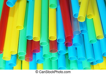colorful of straw background