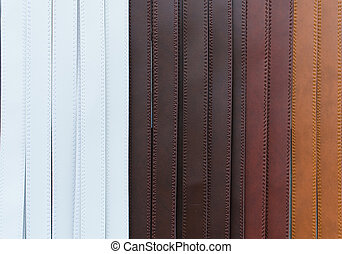 Colorful of trouser leather belt