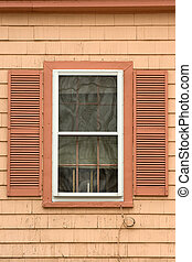 Colorful old window