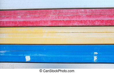 Colorful on steel shutter door 2