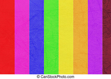 Colorful on the Paper texture background