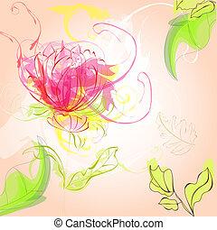 Colorful original background