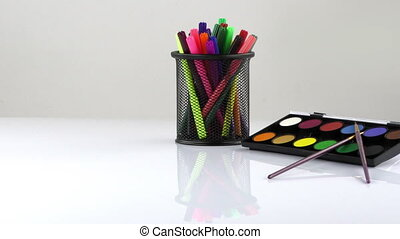 Colorful Paint Pen Equipment Tools and Paint