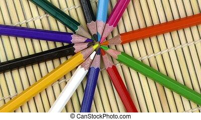Colorful Paint Pencils