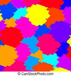 Colorful paint wallpaper