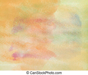 Colorful painted color on paper texture background.