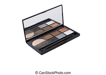 Colorful palette for makeup