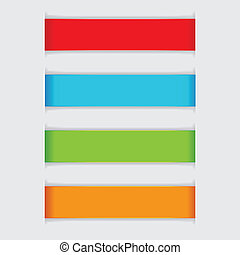 Colorful Paper Banner