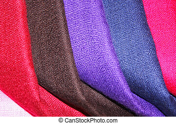 Colorful pasmina shawls
