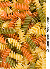 pasta - colorful pasta close up for background