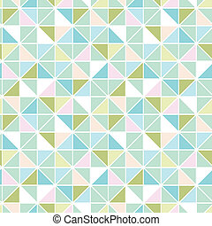 Colorful pastel triangle texture seamless pattern background...