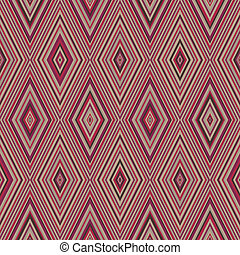 Colorful pattern with triangle and lines