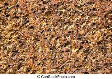 Colorful patterns of bricks.