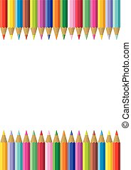 Colorful Pencil Frame