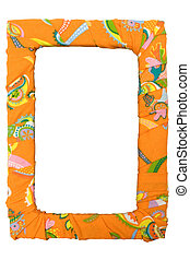 Colorful Picture Frame with Clipping Path