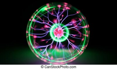 Colorful plasma