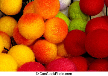 Colorful Pompons