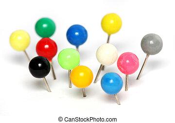 Colorful Push Pin