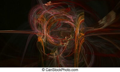 Colorful red lines pattern abstract motion background