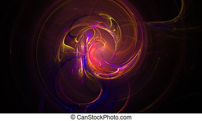 Colorful red rcolor explosion abstract background