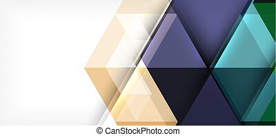 Colorful repeating triangles modern geometric in contemporary style on white background. Abstract geometric shape. Modern stylish texture. Vector abstract graphic design.