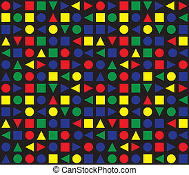 Colorful Retro Pattern