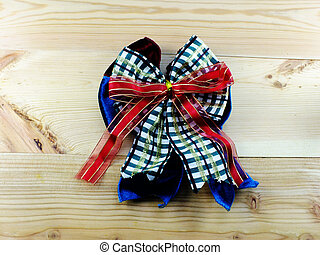 colorful ribbon bow decoration