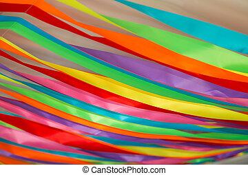 Colorful ribbon