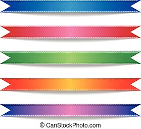 Colorful Ribbons.