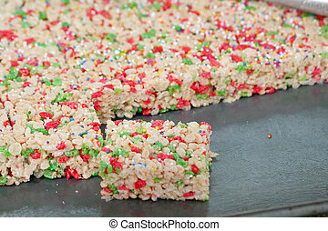 rice cakes - colorful rice cakes for party