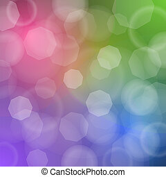 Colorful romantic background