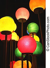 Colorful round Lights