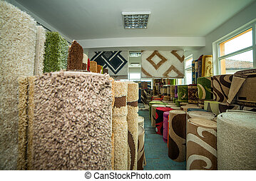 Colorful Rugs For Sale At Store