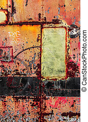 Colorful Rusty Art 4