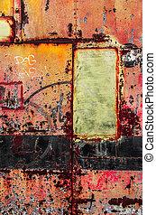 Colorful Rusty Art 4