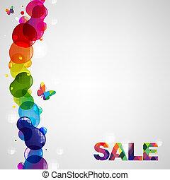 Colorful Sale Text