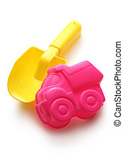 Colorful sandbox toys - Colorful toys for playing in sandbox