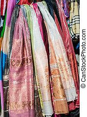 Colorful scarfs