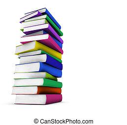 Colorful School Books