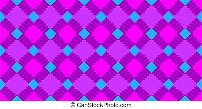 Colorful Seamless Abstract Pattern Vector Illustration Background