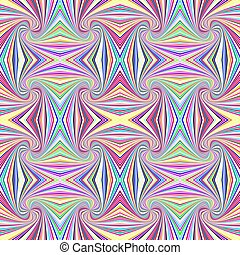 Colorful seamless abstract psychedelic spiral stripe pattern background
