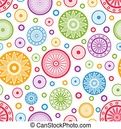 Colorful seamless background.