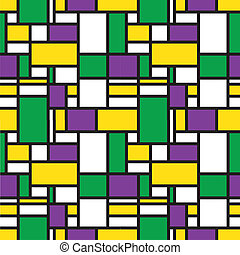 Colorful seamless grid pattern