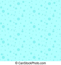 Colorful seamless pattern of falling snow on a blue background. Simple flat vector illustration. For the design of paper wallpaper, fabric, wrapping paper, covers, web sites.
