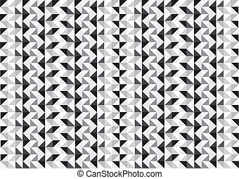 Colorful Seamless pattern of geometric shapes background
