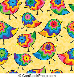 Repeating Chick Background