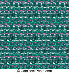 Colorful seamless thread pattern
