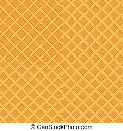 Colorful seamless wafer waffle texture set