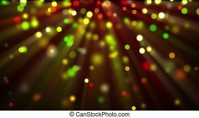 colorful shiny glitter circles loopable background