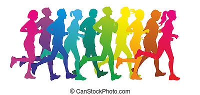 runners stock illustrations 22 502 runners clip art images and rh canstockphoto com runner clipart running clip art pictures